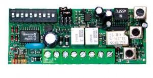 Récepteur 30,875Mhz à bornier 2 canaux - pour télécommande - PROGET SRL - distributeur TREBI AUTOMATISMES | FRANCE