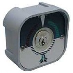 contacteur à clef à encastrer - contrôle d'accès - contacteur à cylindre - trebi gpa - proget - sad - bricometal faptrebi