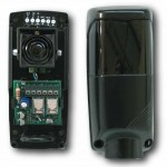 barrière infrarouge photocellule antivandale 12v 24v trebi gpa automatic system - systèle sécurité portail électrique