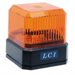 lampe clignotante 12v portail - securité motorisation TREBI PROGET LC1 - 10LC1A012