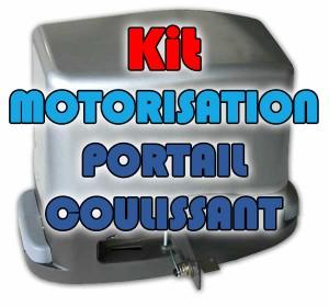 motorisation pour portail coulissant jusqu'à 600 kg