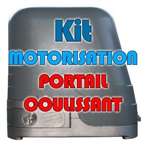 Motorisez votre portail coulissant avec un KIT COMPLET