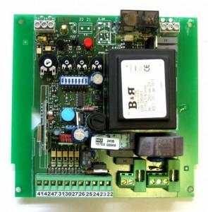 Platine B601 pour motorisation. Marque : Proget, Distributeur : TREBI. Automatismes à portail