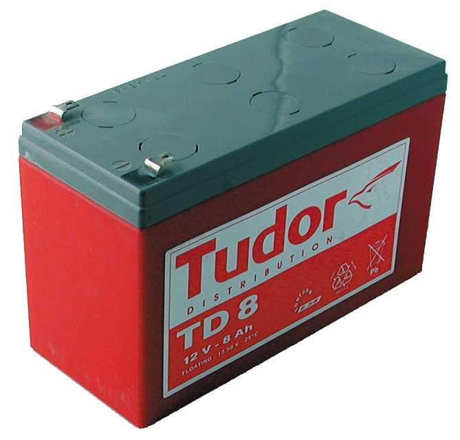 batterie 12V 7Ah pour motorisation portail barrières levantes et portes de garage - fabricant GPA HOMENERGY - Distributeur TREBI