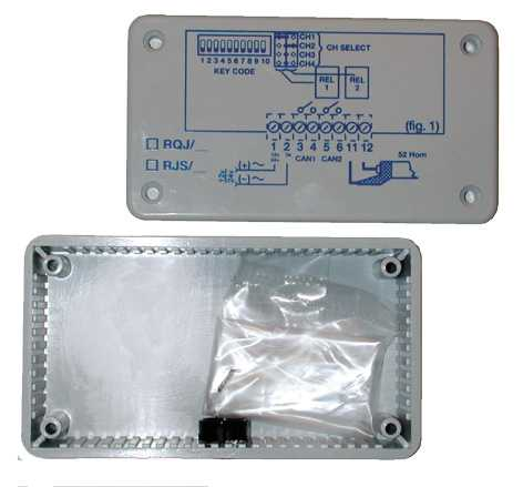 boite protection récepteur motorisation portail automatisme proget trebi