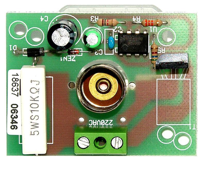 Carte électronique pour feu clignotant de motorisation à portail. Carte électronique UNIVERSELLE PROGET 230V 25W. TREBI automatismes