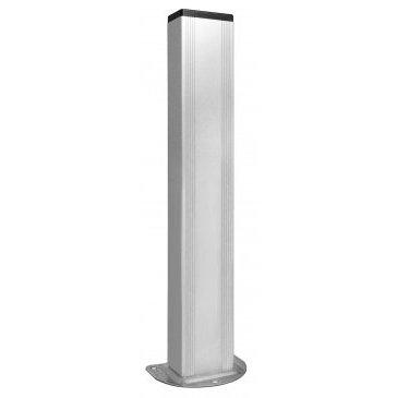 Colonnette aluminium pour photocellule nologo - distributeur trebi france