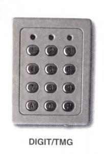 Sécurisez votre entrée avec un digicode ! Modèle à clavier rétro-éclairé- Fabricant : ACIE - Distributeur : TREBI motorisation FRANCE