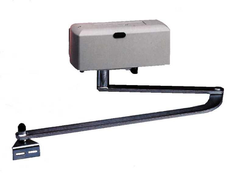 essemble bras droit et bras courbé pour motorisation porte portail automatismes trebi DU45 - BENINCA SAD du45
