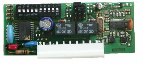 Récepteur embrochable TREBI sur faptrebi bricometal - 433Mhz TREBI grossiste pour PROGET - motorisation portail - automatismes