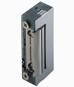 Gâche électrique PROEM à encastrer 12V - symétrique et réversible à mémoire - TREBI PROEM