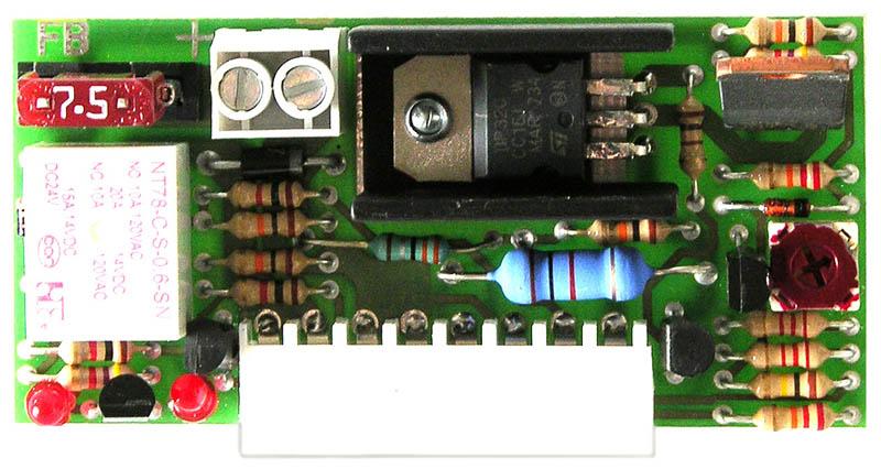 carte chargeur pour platine de motorisation D13 - portail 24V trebi - faptrebi bricometal