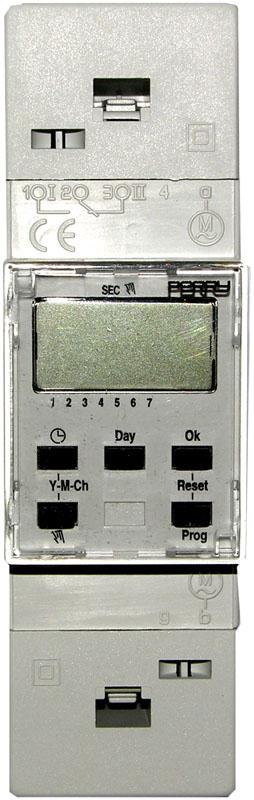 horloge hebdomadaire NO NF modulaire changement heure légale - trebi - HORLHEB - faptrebi bricometal - perry electric 1I07081