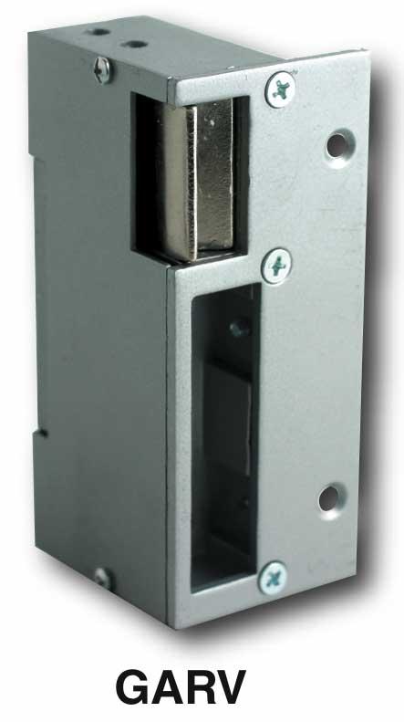 gâche électrique motorisation portail 12V ac dc - trebi - CDVI - GARV12