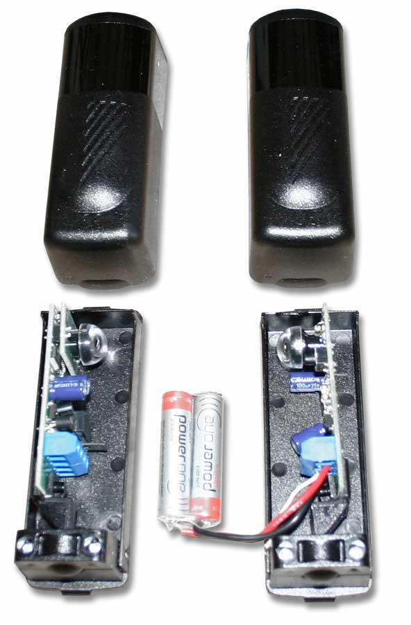 ZOOMZ180BPR - photocellule portail nologo - trebi bricometal - sécurité automatisme