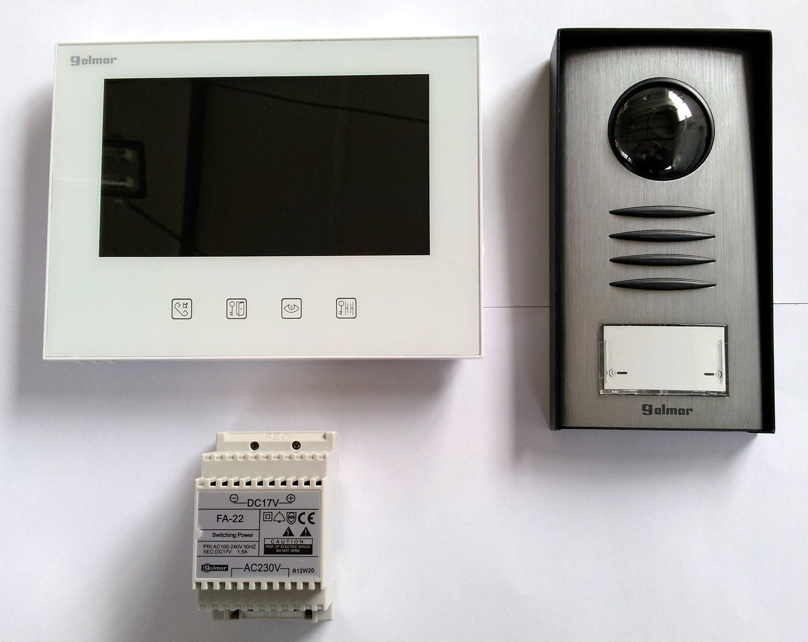 kit videophone couleur golmar evicom - trebi