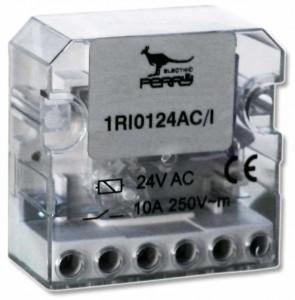 TELE24 - Télérupteur 230v ac contact 10A - éclairage portail - perry electric trebi faptrebi bricometaljpg
