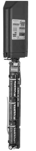 bande palpeuse RADIO à cable 2m montée en 70mm trebi SOMO ACG3016