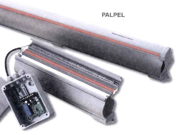 bande palpeuse resistive 2m - trebi - faptrebi - bricometal - motorisation portail - bande sécurité